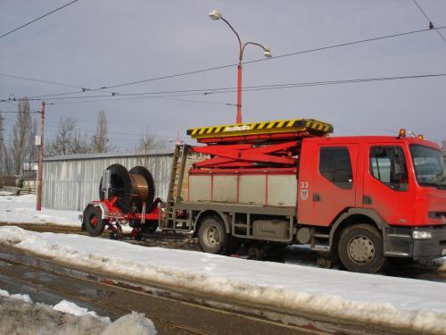 Plošina a vozík s adaptérem