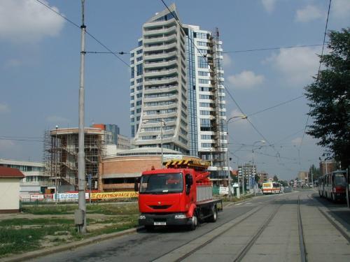 Pracovní plošina - DP Olomouc
